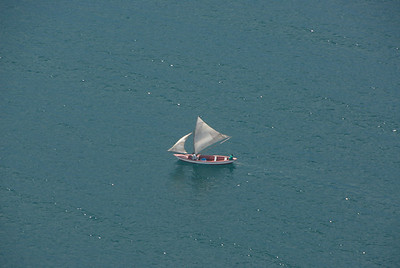 Sailboat, Lake Malawi.