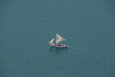 Sailboat, Lake Malawi.