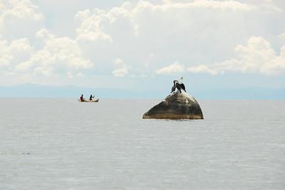 Off Likoma Island, Lake Malawi.