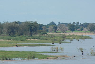 Shore of Lake Malawi.