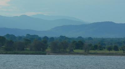 Lake Malawi shoreline.