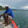 Cruising around Likoma Island, Lake Malawi.