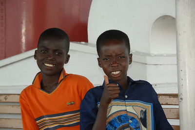 Passengers on the MV Ilala, Lake Malawi.