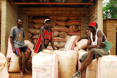 Warehouse, Likoma village, Likoma Island, Malawi.