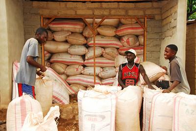 Warehouse, Likoma village, Likoma Island, Lake Malawi.