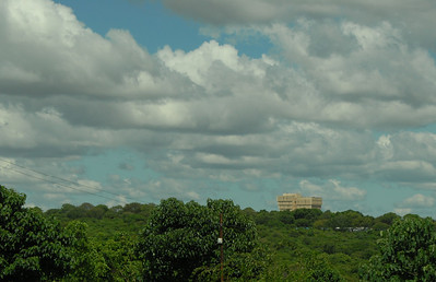 Malawi's tallest building, the Bank of Malawi.