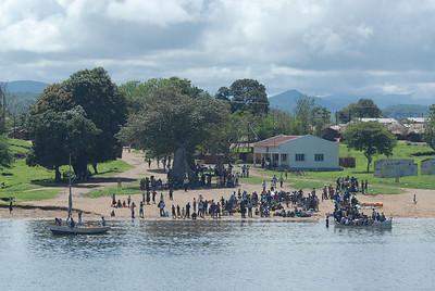 Lake Malawi shoreline, Mozambique.