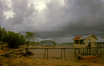 Just before the storm, Sabah province, Malaysian Borneo.