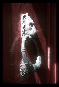 Door knocker, Mdina, Malta.