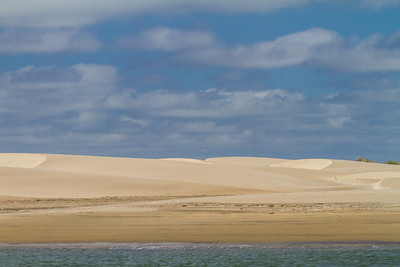 View of sand dunes - Mexico