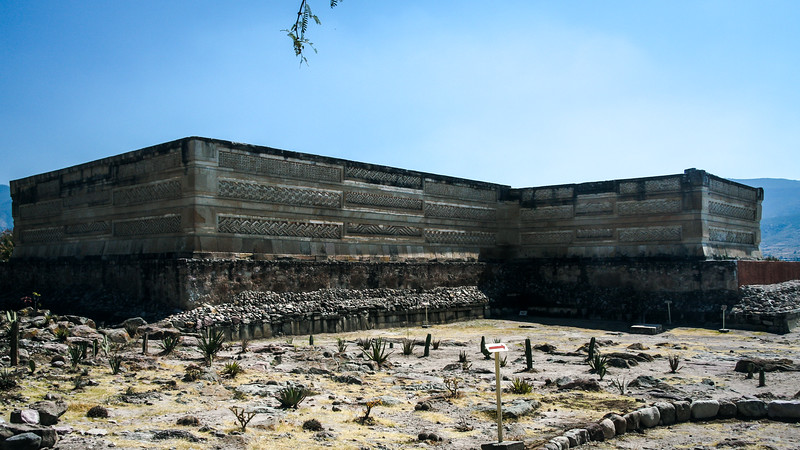 Part of the Columns Group of Mitla