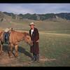 Mongolian cowboy.