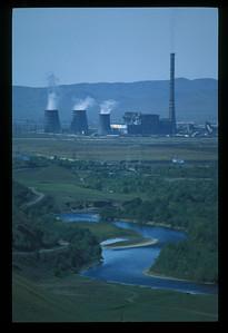 Mongolian power station.