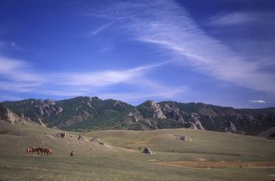 Rural Mongolia.