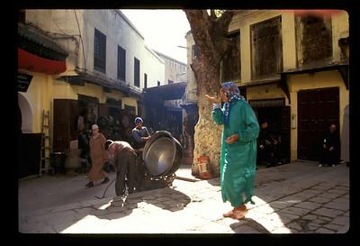 Walk like a Moroccan. Fez, Morocco.
