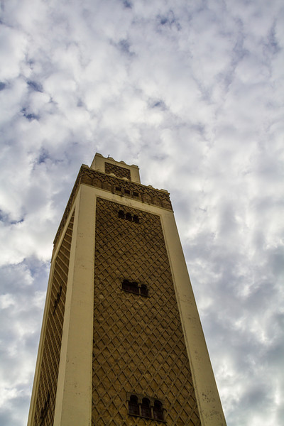 Mosque Minaret, Tangier, Morocco, Africa