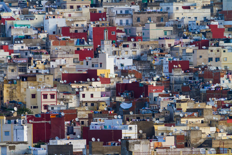 Crowded House, Tangier, Morocco