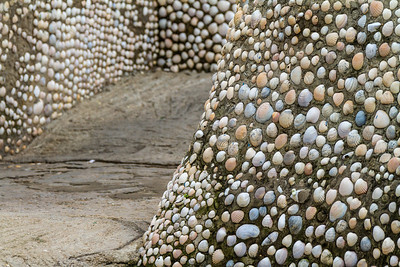 Seashell Walls, Cape Spartel, Morocco, Africa