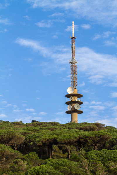 Communication Tower, Morocco Coast