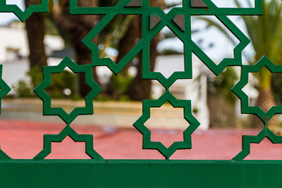 Gate details, Tangier, Morocco