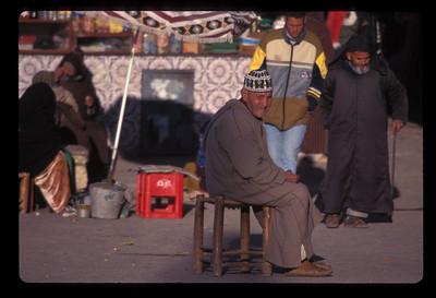 Village market, Morocco.
