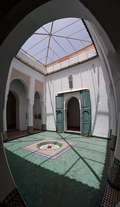 In the Marrakesh museum