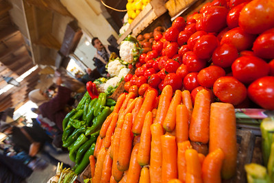 Vegetables At Market, Fez, Morocco