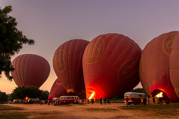 Bagan Balloon Flight