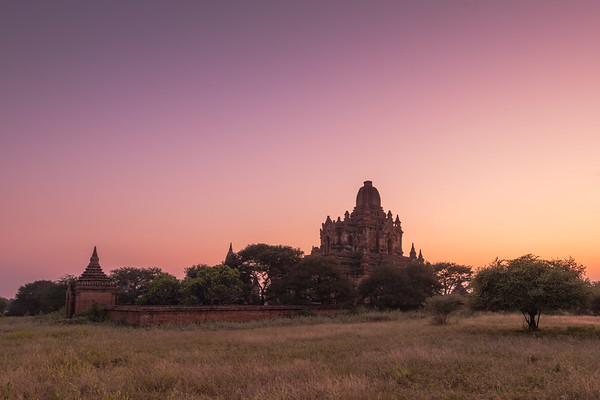 Sunrise at the Temples - Bagan, Myanmar