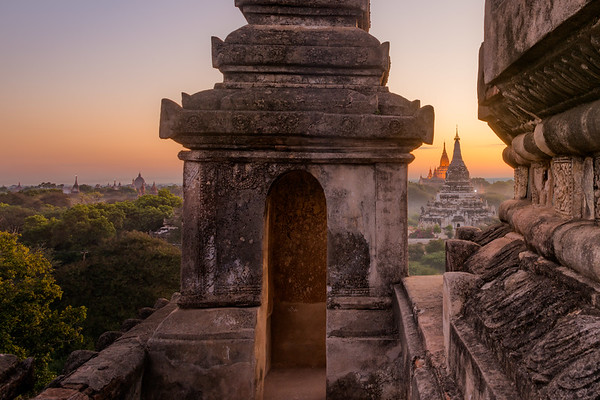 Bagan, Myanmar. Exploring the ancient Buddhist temples at this incredible town with over 2000 remaining temples and pagodas.
