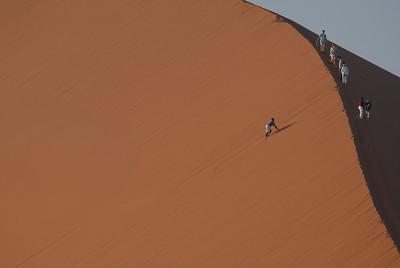 Detail of Dune 45, Namib-Naukluft Park, Namibia.