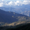 The Himalayas from Nagarkot, Nepal.