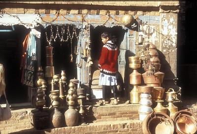 Shop, Bhakapur, Nepal.