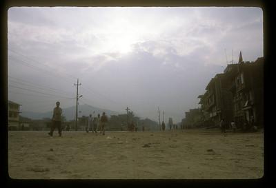 Main Street, Banepa, Nepal.