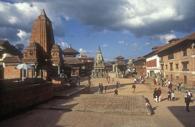 Central square, Bhaktapur, Nepal.
