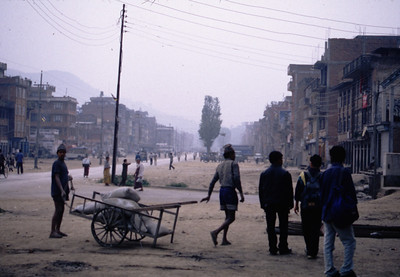 Banepa, Nepal, on the road to the Chinese border.