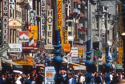 The Damrak, Amsterdam, Netherlands.