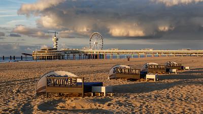 Scheveningen beach, Netherlands