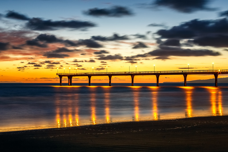 New Brighton Pier Sunrise 2