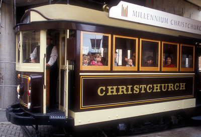 Mass transit, Christchurch, New Zealand.