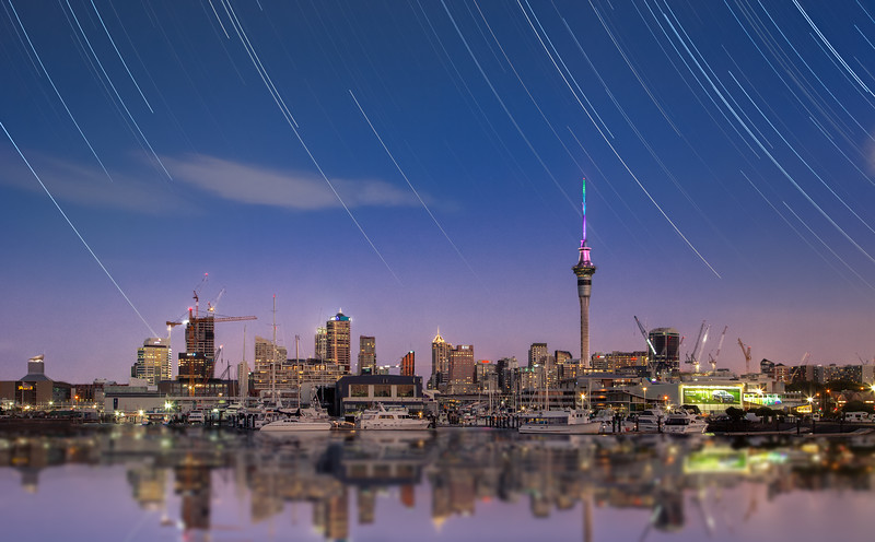 Auckland Star Trails #2