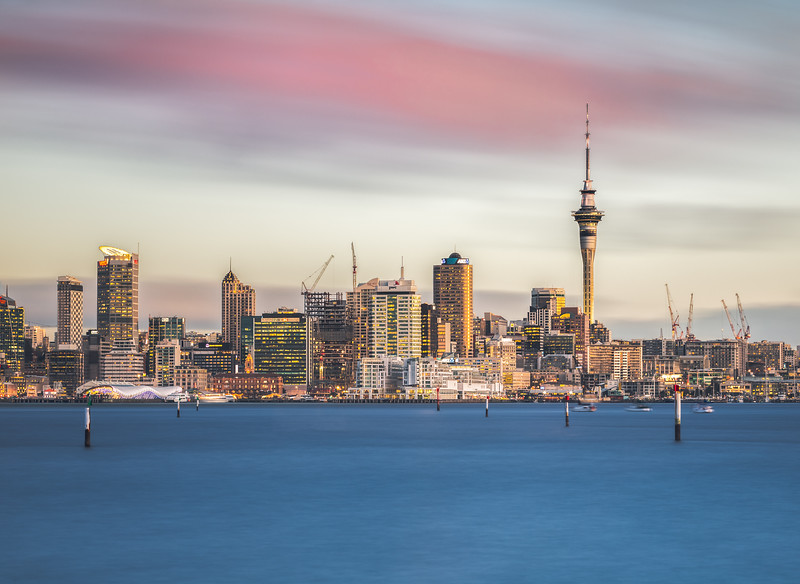 Auckland Long Exposure Sunset