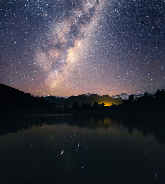 Milky Way Rising