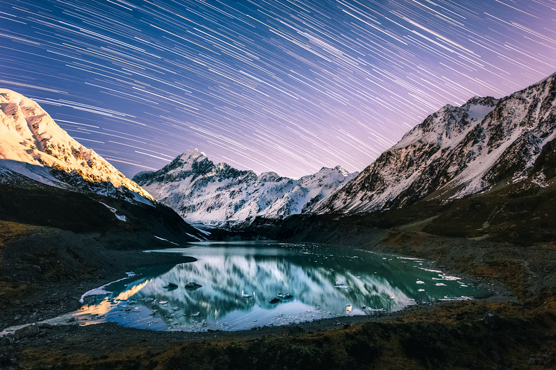 Mt. Cook Star Trails