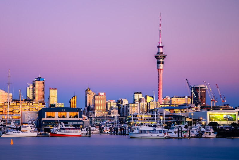 Auckland Fading Light