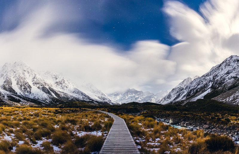 Hooker Valley Track Cloud Cover