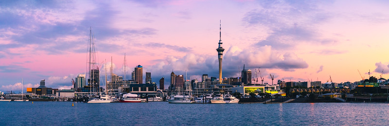 Auckland City Panorama 11-2018