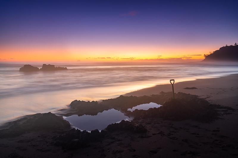 Hot Water Beach Sunrise 2