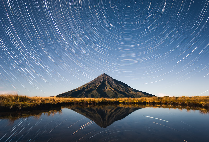 Taranaki Star Trails