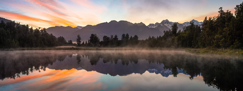 Lake Matheson Panorama